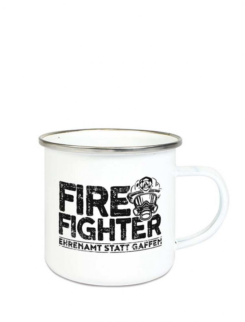 Emaille Becher FIREFIGHTER - 300 ml