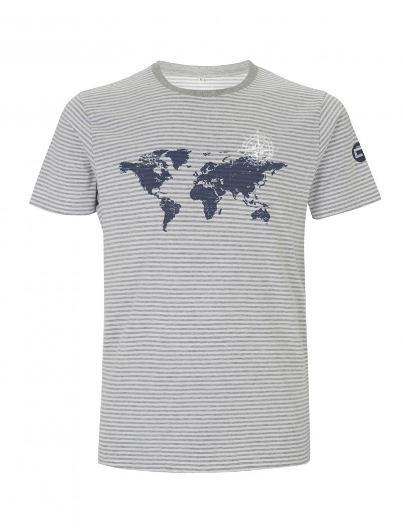puranda JERSEY T-SHIRT GLOBETROTTER Men and Women