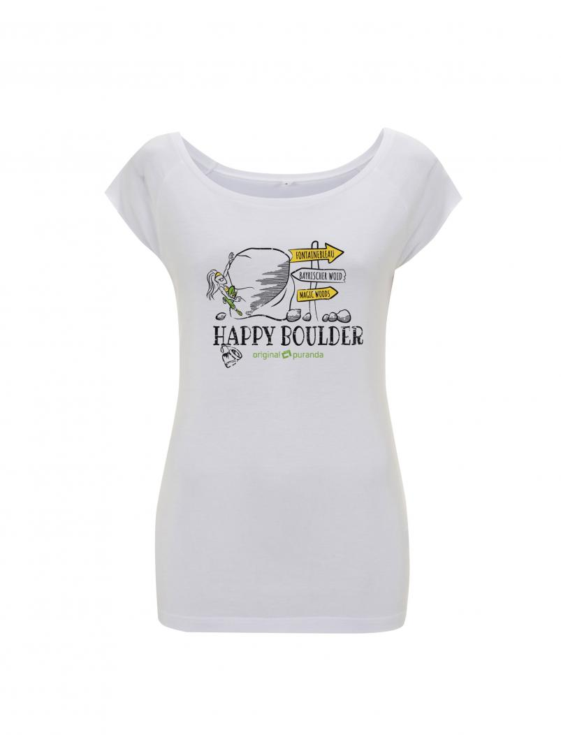 puranda BAMBUS T-SHIRT HAPPY BOULDER Women