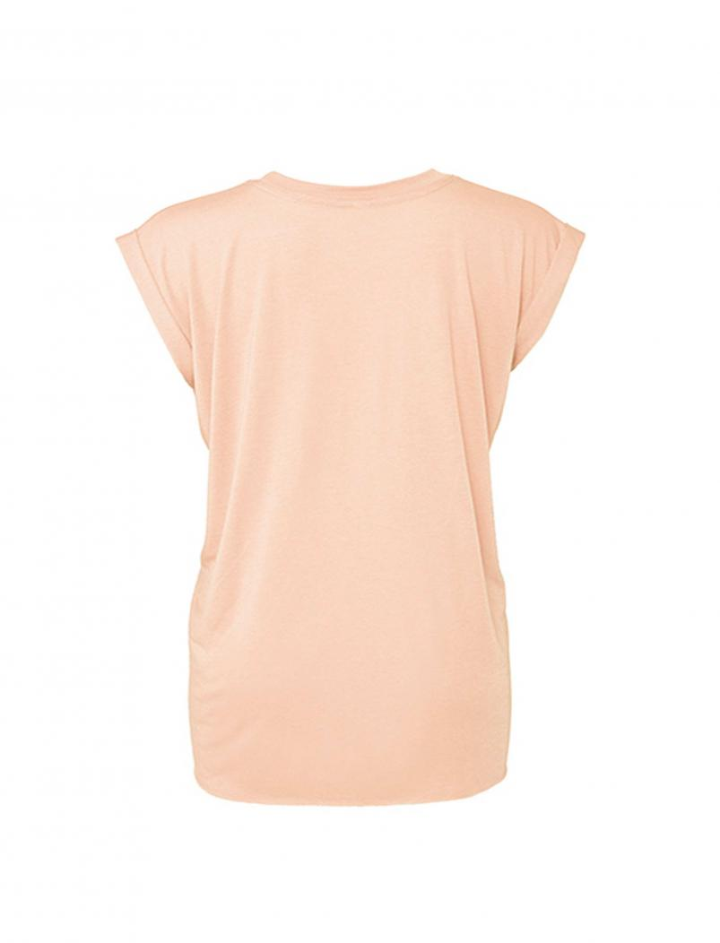 puranda T-Shirt Wild and Free - apricot - hinten