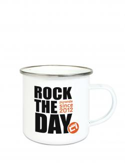 puranda EMAILLE TASSE ROCK THE DAY - 300 ml